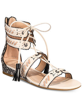 Via Demi Wedge Sandals by Coach