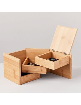Ease Nesting Storage Box by West Elm