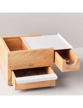 Ease Wood + Metal Storage Box   Mini by West Elm