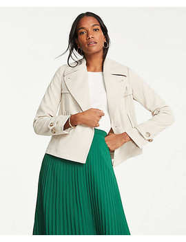 Short Trench Coat by Ann Taylor