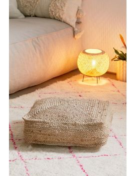 Jute Floor Pillow by Urban Outfitters
