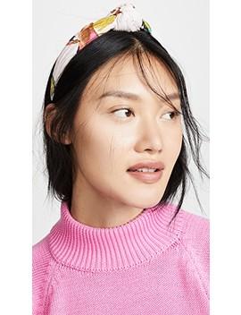 Jungle Blush Headband by Tanya Taylor