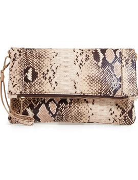 Rolyn Faux Leather Clutch by Sole Society