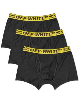 Off White Boxer Short   3 Pack by Off White