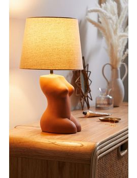 Female Form Table Lamp by Urban Outfitters