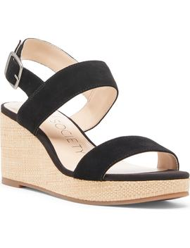 Cimme Wedge Sandal by Sole Society