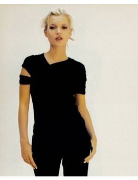 Helmut Lang 1998 A/W Black Cut Out T Shirt Archive by Etsy