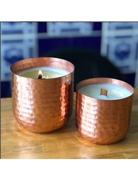 Luxury Copper Handpoured Soy Candles by Etsy