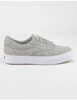 Keds Rise Jersey Light Gray Womens Shoes by Keds