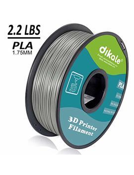 Dikale Pla 3 D Printer Filament   1 Kg(335m/1099ft) 1.75mm, Dimensional Accuracy +/  0.02 Mm, 1 Kg Spool 1.75 Mm, Light Gray(Suitable For Ender 3 3 D Printer Etc) by Dikale