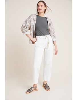 Cropped Utility Pants by Anthropologie