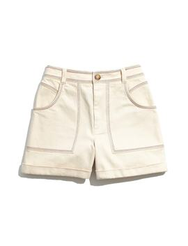 Chase Rainbow Stitched Canvas Shorts by Madewell