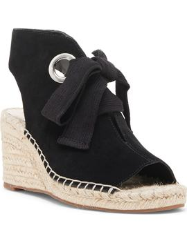 Cambrine Lace Up Wedge Espadrille Sandal by Sole Society