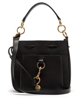 Tony Medium Leather Bag by See By Chloé