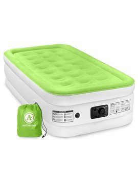 Air Comfort Dream Easy Twin Size Raised Air Mattress With Built by Air Comfort