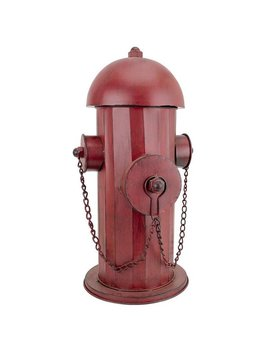 Design Toscano Vintage Metal Fire Hydrant Statue: Medium by Generic