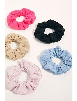 Eyelet Scrunchie by Free People