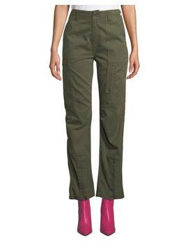 High Rise Straight Leg Cargo Pants by Re/Done