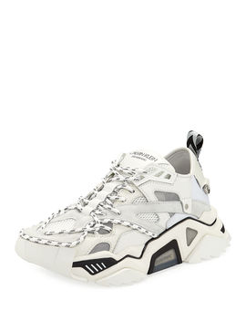 Men's Strike 205 Leather Trainer Sneakers by Calvin Klein 205 W39 Nyc