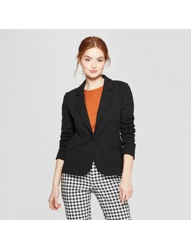 Women's Ponte Knit Blazer   A New Day™ by A New Day