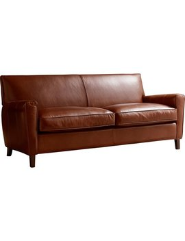 Foster Leather Sofa by All Modern Custom Upholstery