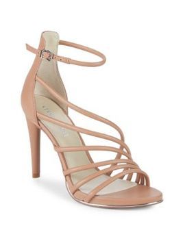 Belinda Leather Stiletto Sandals by Kenneth Cole