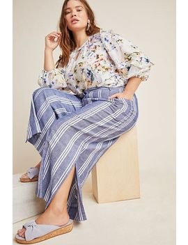 Beachy Wide Leg Pants by Anthropologie