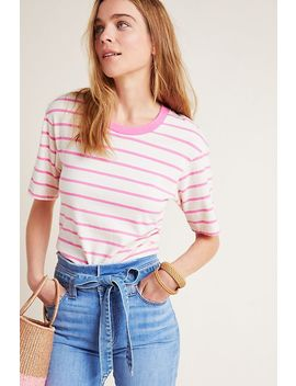 Stateside Primrose Striped Tee by Stateside