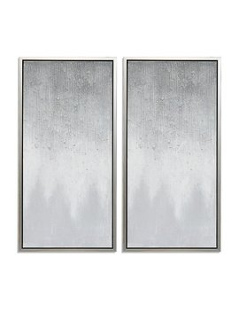 Twilight Hand Painted Framed Gallery Wrapped Canvas (Set Of 2) by Uptown Club