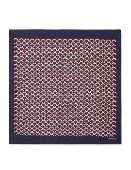 Valentino Garavani Printed Silk Twill Headscarf by Valentino