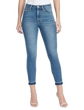 Super High Waist Skinny Ankle Jeans by William Rast