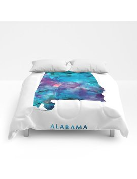 Alabama Comforters by Society6