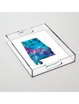 Alabama Acrylic Tray by Society6