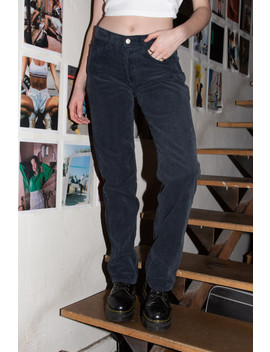 Addison Corduroy Low Rise 90's Pants by Brandy Melville