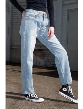 Amanda Light Wash Jeans by Brandy Melville