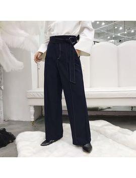 Bjorn   Tie Front Wide Leg Pants by Bjorn