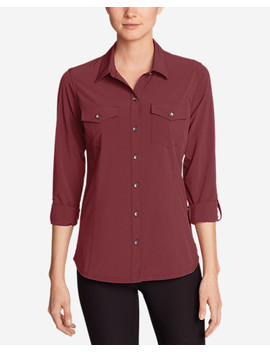Women's Departure Long Sleeve Shirt by Eddie Bauer