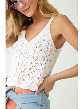 Open Knit Top by Forever 21