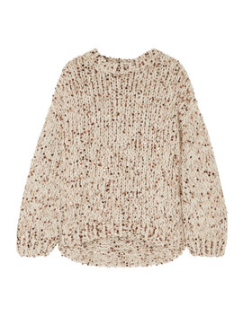 Sequined Chunky Knit Sweater by Brunello Cucinelli
