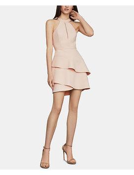 Tiered Halter Dress by Bcbgmaxazria