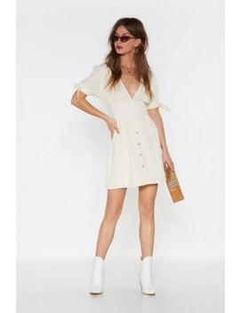 All Play Linen Midi Dress by Nasty Gal