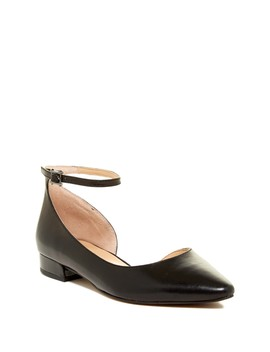 Slide Leather D'orsay Flat by Franco Sarto