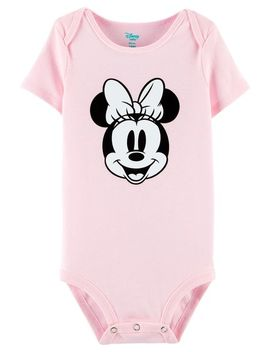Minnie Mouse Bodysuit by Oshkosh