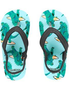 Osh Kosh Surf Zilla Flip Flops by Oshkosh