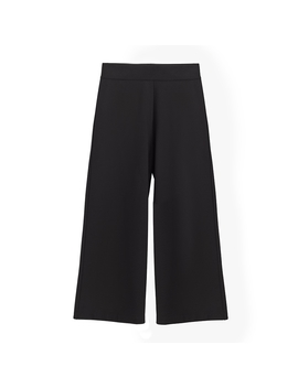 Ponte Wide Leg Cropped Pant by Cuyana
