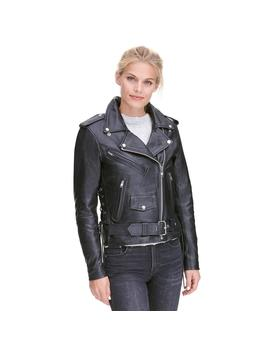 Classic Asymmetrical Rider Jacket W/Side Lacing Classic Asymmetrical Rider Jacket W/Side Lacing by Wilsons Leather