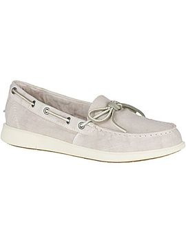 Women's Oasis Canal Canvas Boat Shoe by Sperry