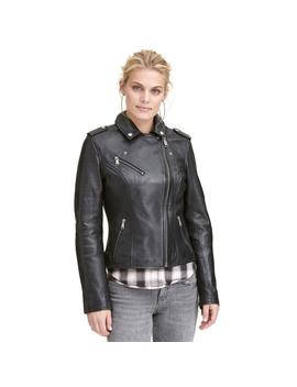 Madeline Asymmetrical Zip Jacket by Wilsons Leather