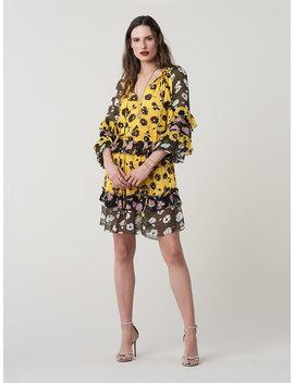 Haven Silk Drop Waist Dress by Dvf