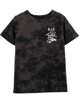 Rad Shark Tie Dye Tee by Oshkosh